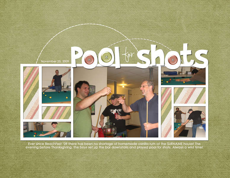 pool for shots