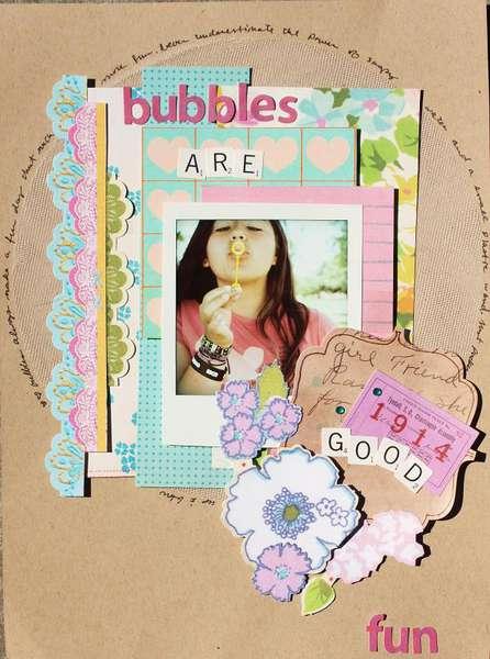 Bubbles are good fun