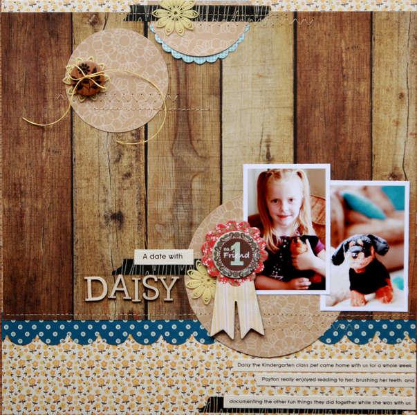 a date with Daisy  **Studio Calico County Fair kit**