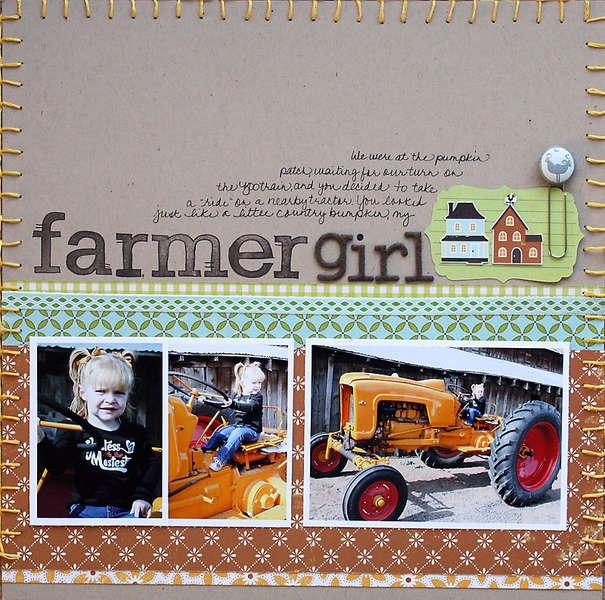 Farmer Girl  **Studio Calico**