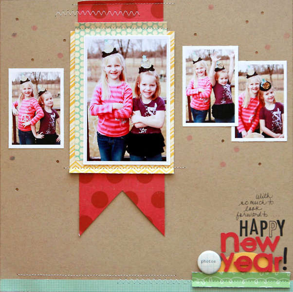 Happy New Year!  **Studio Calico Daydream Believer kit**