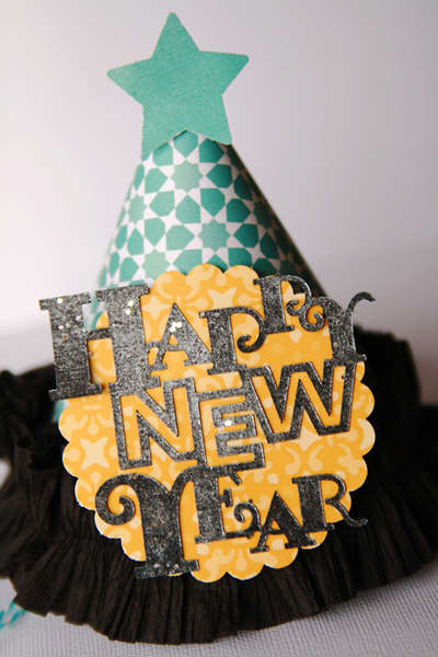 Happy New Year!!  **Studio Calico** party hats