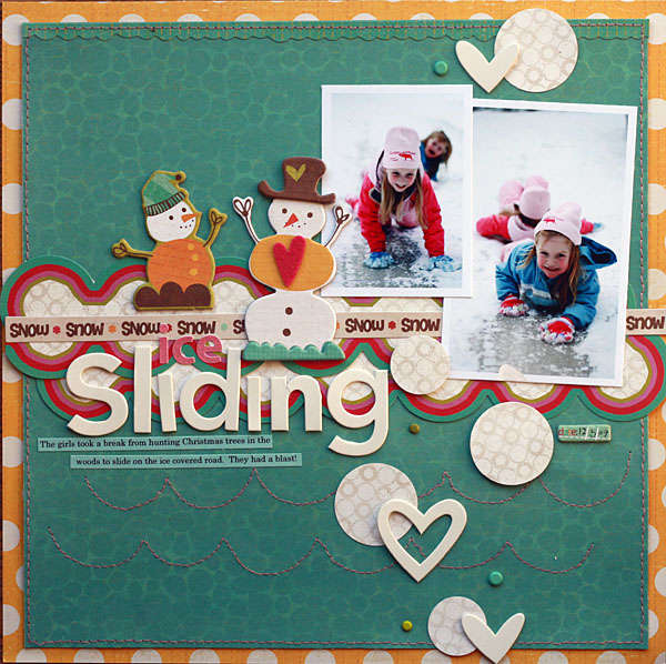 Ice Sliding  **CRATE Paper**