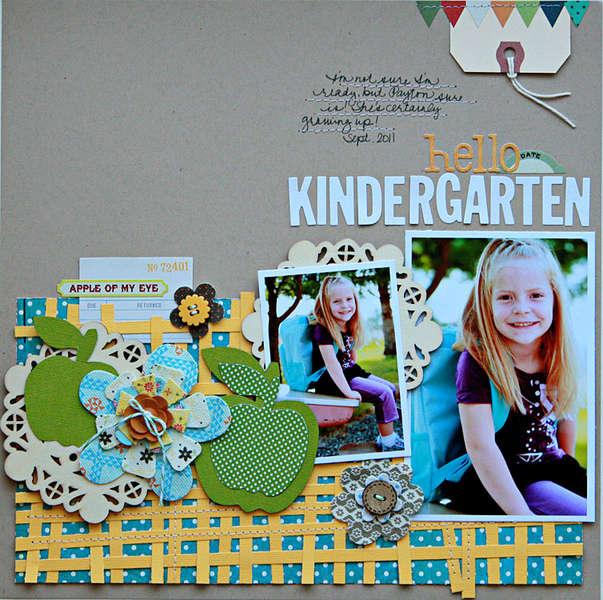 Hello Kindergarten  **Studio Calico Field Guide kit**