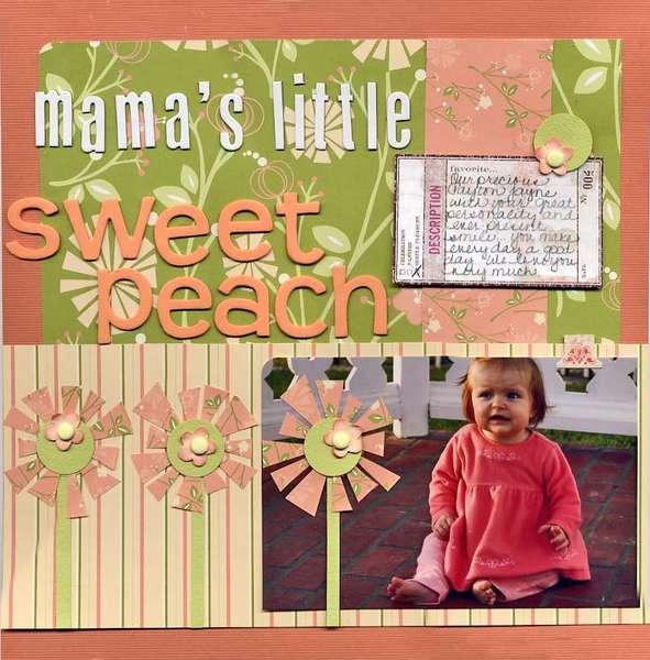 Mama's Little Sweet Peach