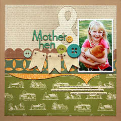 Mother Hen  **Studio Calico Memoir**