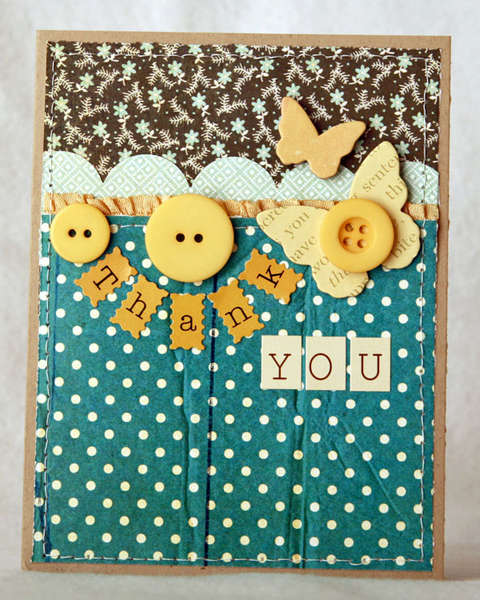 Thank you Card **Studio Calico Field Guide kit**
