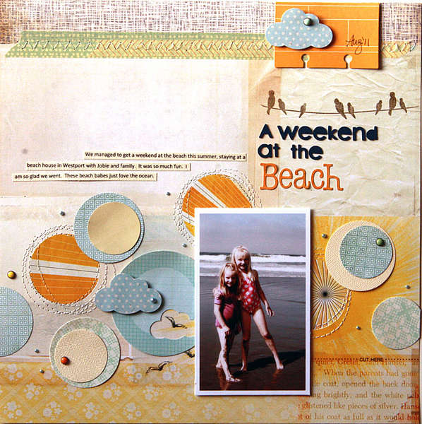 Weekend at the Beach  **Studio Calico Field Guide**