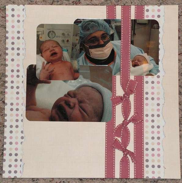 birth of dd page 1