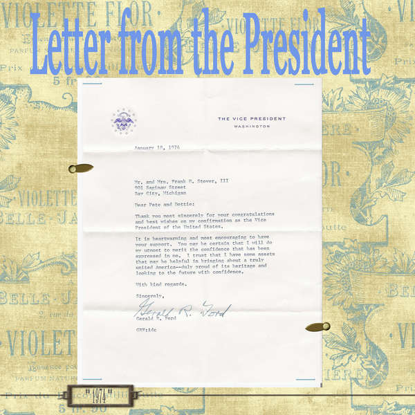 Letter from the Vice-President
