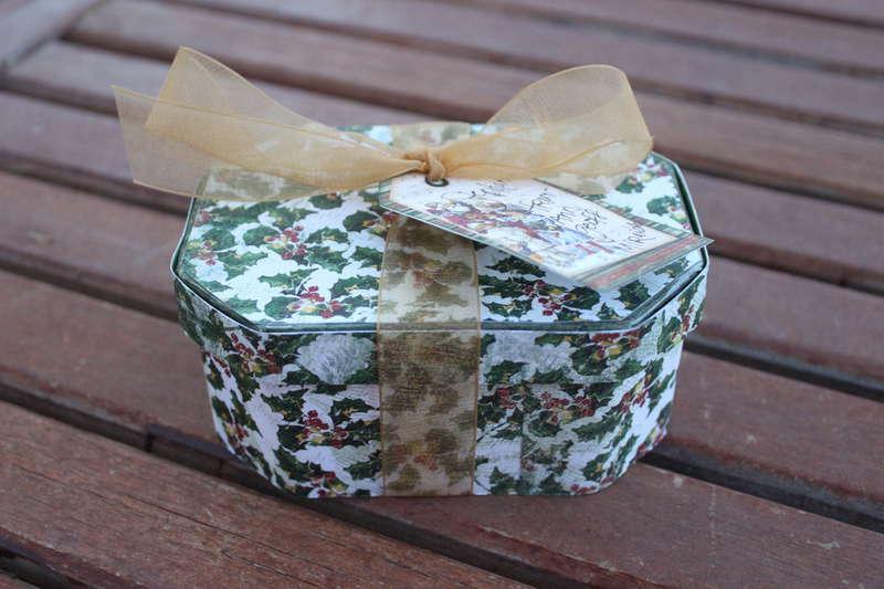 Bo Bunny/Xyron Christmas box
