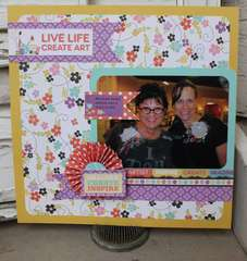 We R Memory Keepers CHA booth sample