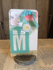 American Crafts/Crate Paper/Spellbinders project