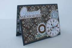Ruby Rock it/Xyron sweet memories card
