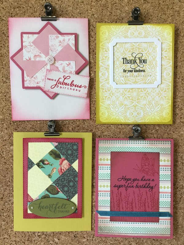 Tea Garden Card Set