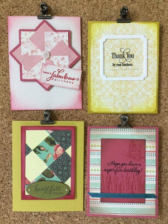 Tea Garden Card Set