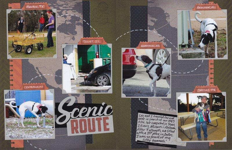 """Vol 19 Pg1-2 Team Leo """"Scenic Route"""""""