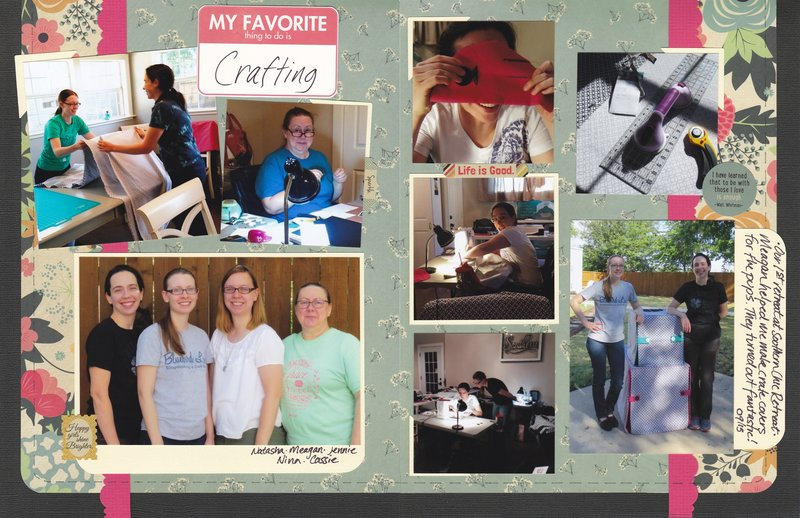 Vol 18 Pg15-16 My Favorite Thing is Crafting
