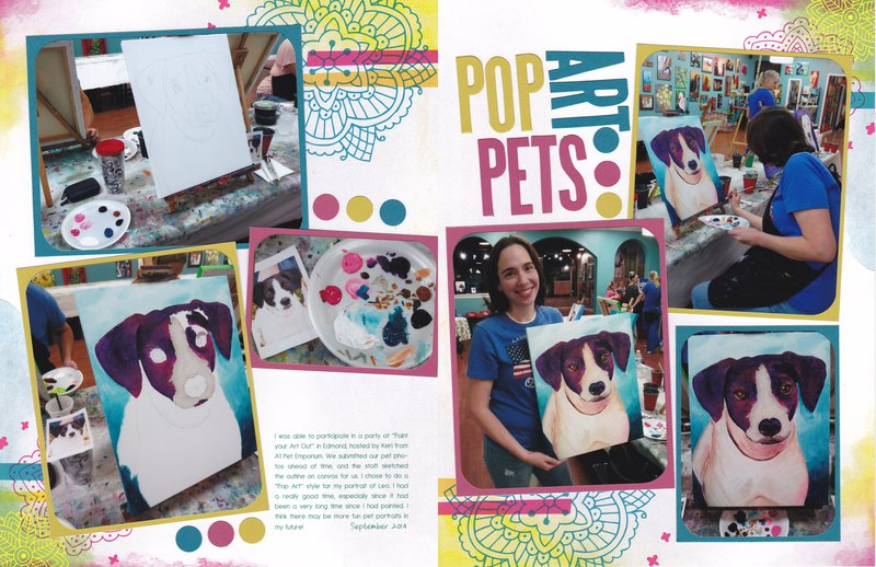 Vol 17 Pg19-20 Pop Art Pets