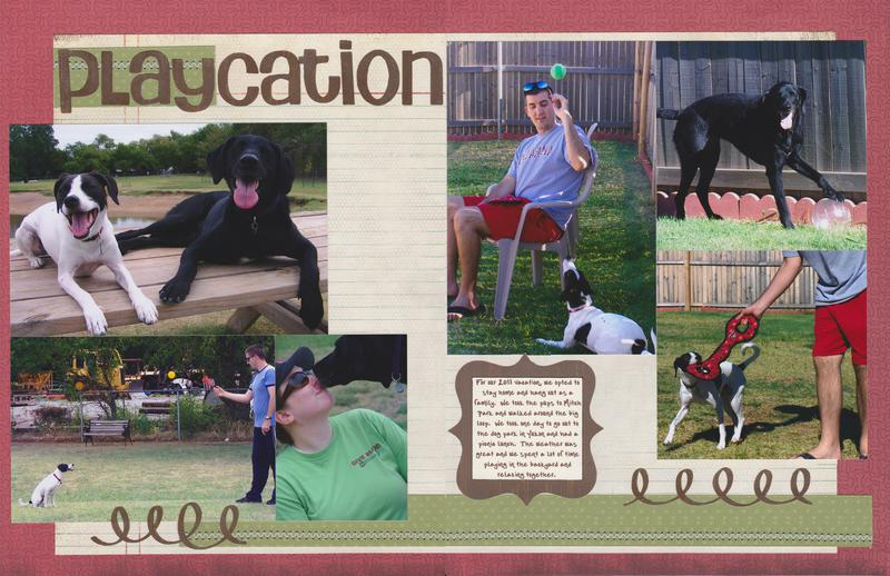 """Vol 14 Pg 9-10 """"Playcation"""""""
