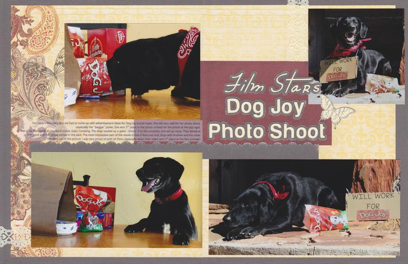 Vol 14 Pg 23-24 Dog Joy Photo Shoot