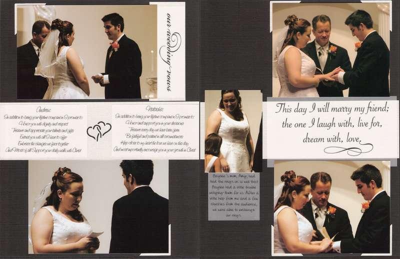 Wedding Album Pg 22-23