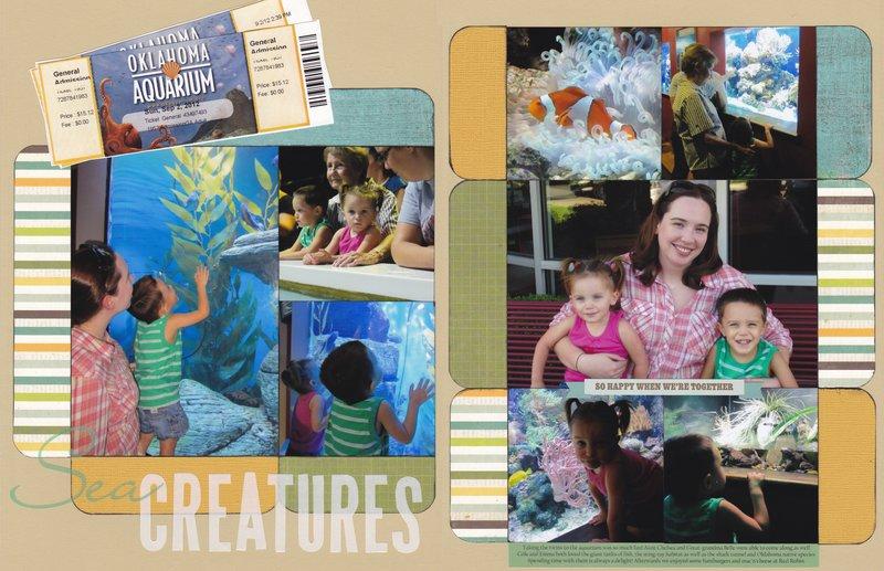 Vol 15 Pg11-12 Sea Creatures