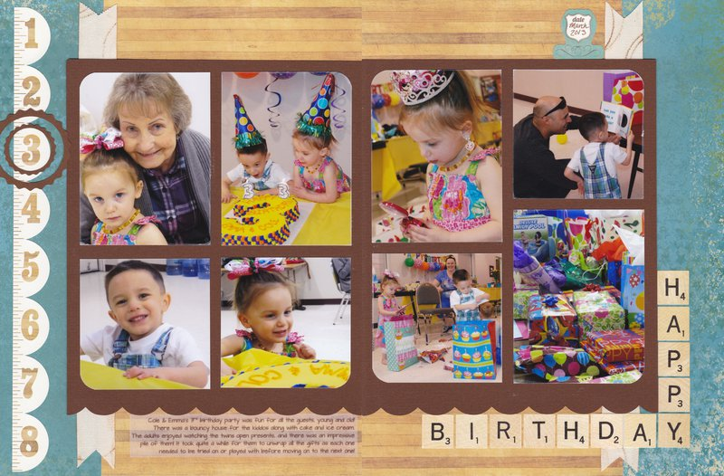 Vol 15 Pg25-26 Twins' 3rd Birthday