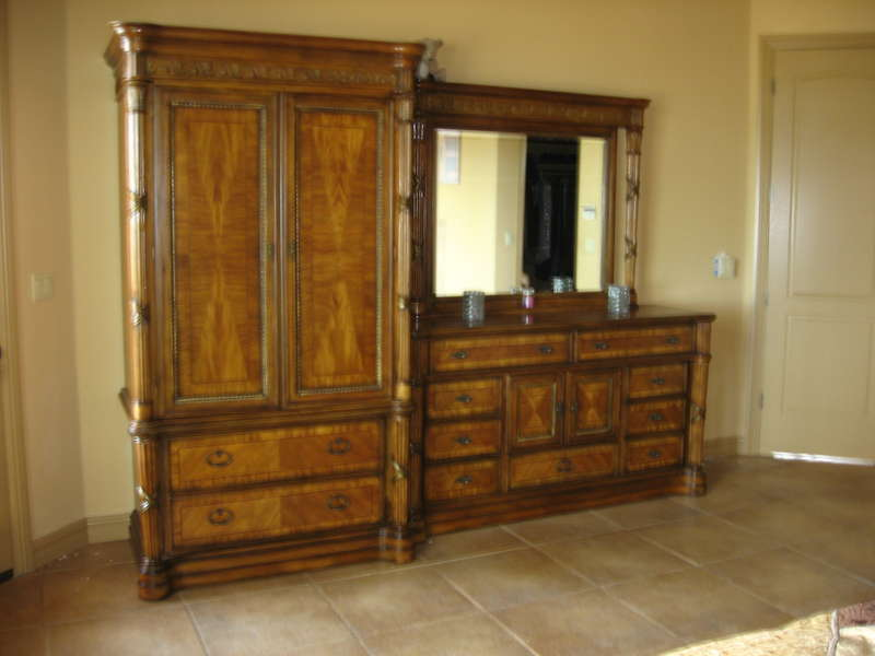 new dresser and armoire