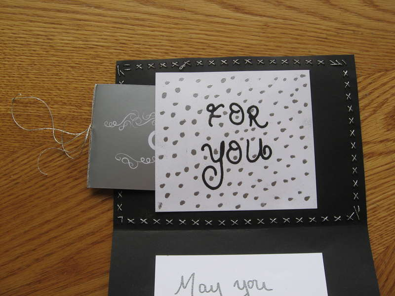 inside wedding card