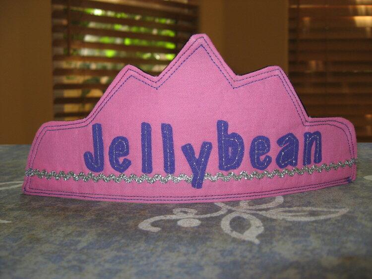 princess jellybean crown