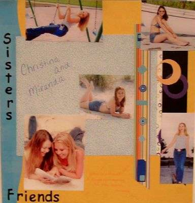 Sisters/Friends (Creative Memories only)
