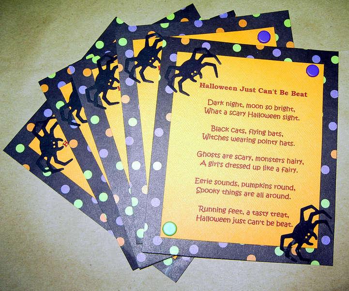 Halloween swap #2-Poem