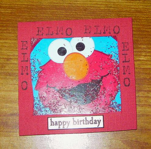 Elmo Happy birthday shaker