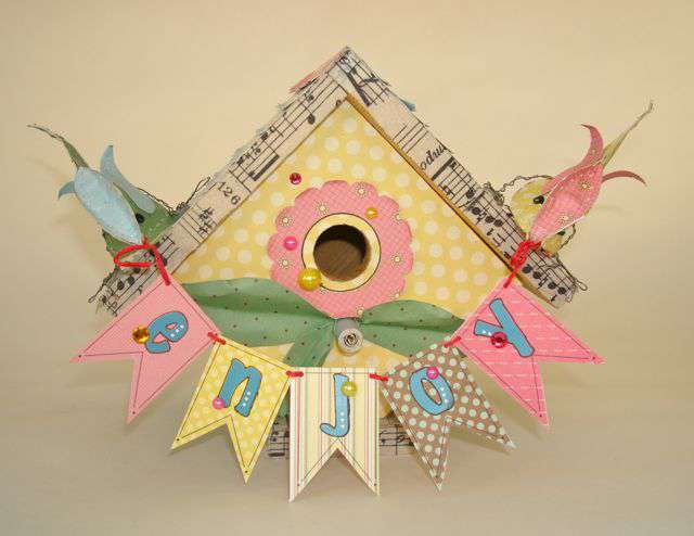 Enjoy Birdhouse *** Nikki Sivils