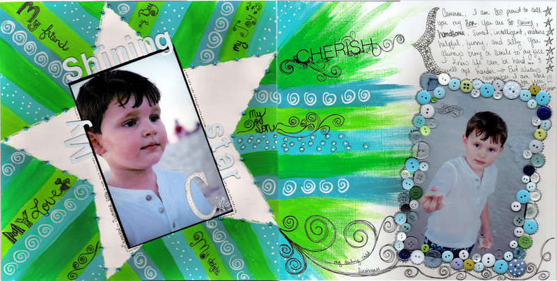 My shining Star both pages