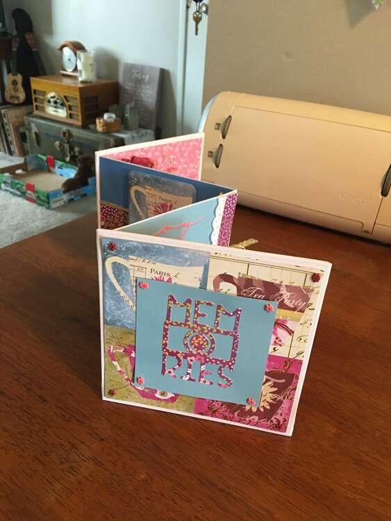 Mini Album for a co-worker's birthday - cover