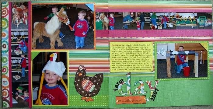 Farm Day at Little School