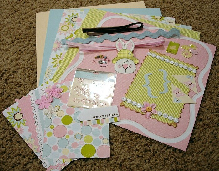 Easter/Spring Page Kit