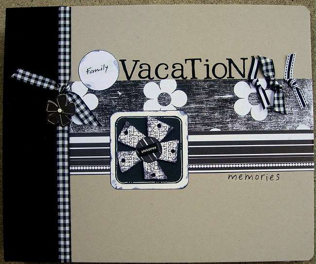 Family Vacation Memories Album