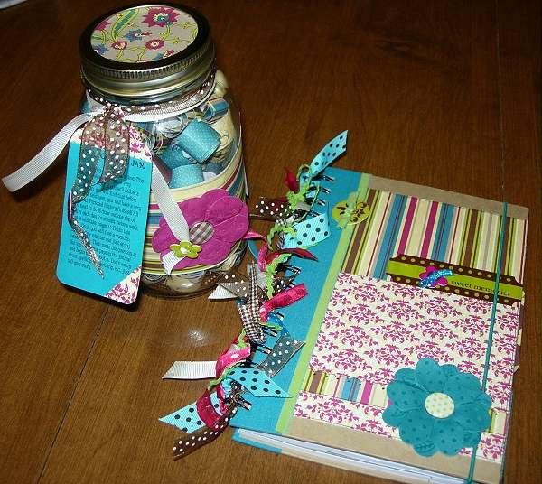 Journal Jar & Altered Journal