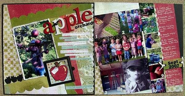 apple orchard 2007