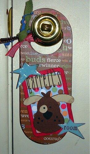 Altered Door Hanger