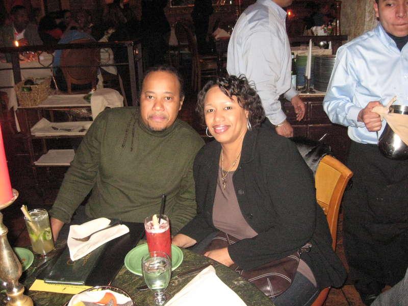 Sylvia n Elloit ... Bruce sister... and bro inlaw