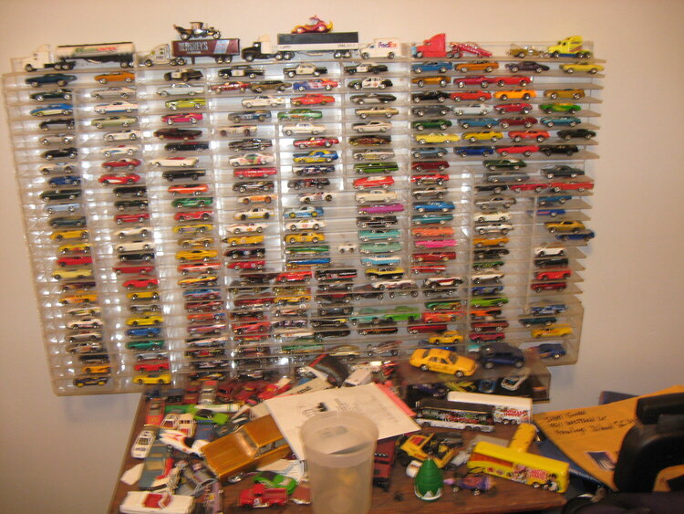 My sweetie has a love for cars....