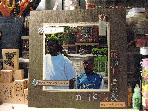 Nick and Najee w/ Love