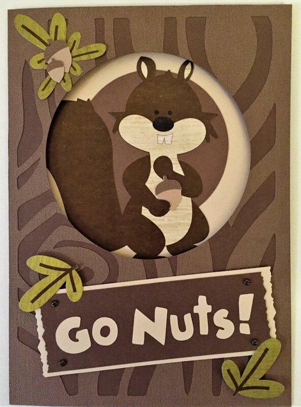Squirrel Appreciation Day card