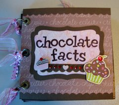 Chocolate Mini Quote Booklet/Birthday Card