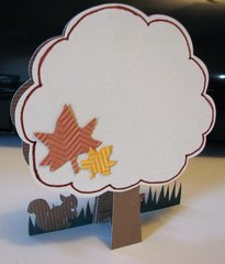 Happy Thoughts Fall Card