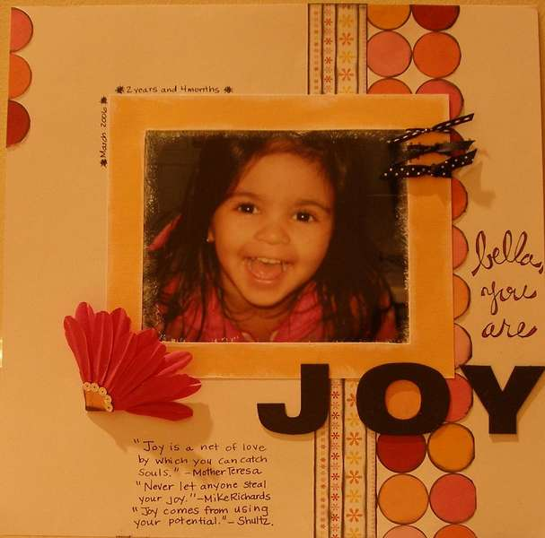 you are JOY